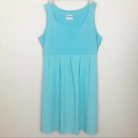 Columbia Dresses & Skirts - Columbia PFG Freezer Blue Athletic Dress